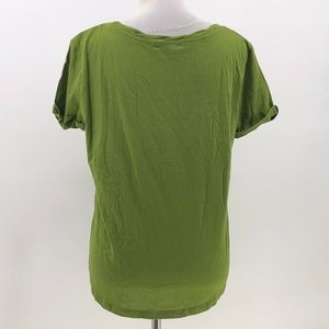 cats collection Tops - Cats Collection  green t-shirt distressed holes M